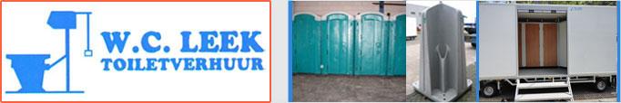 WCleek – Toilet verhuur